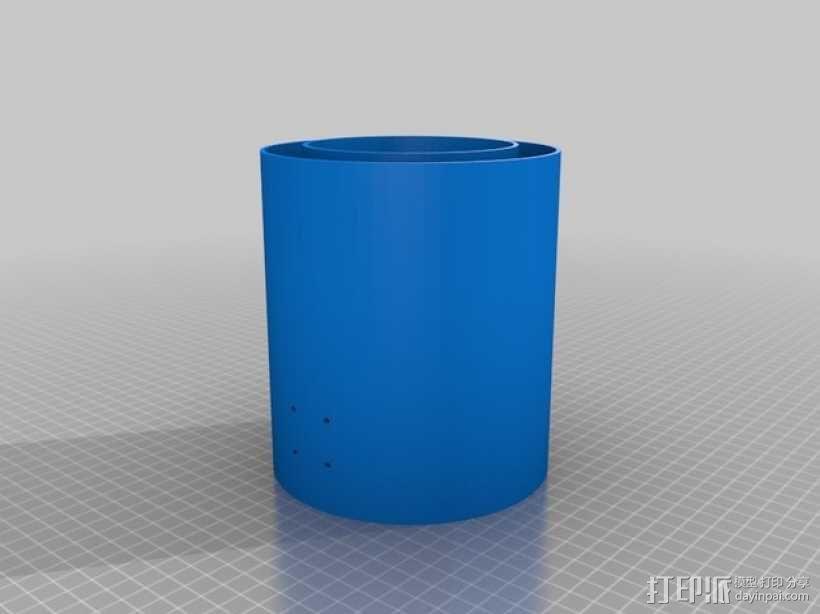 文具盒+铅笔套+伸缩尺 3D模型  图35