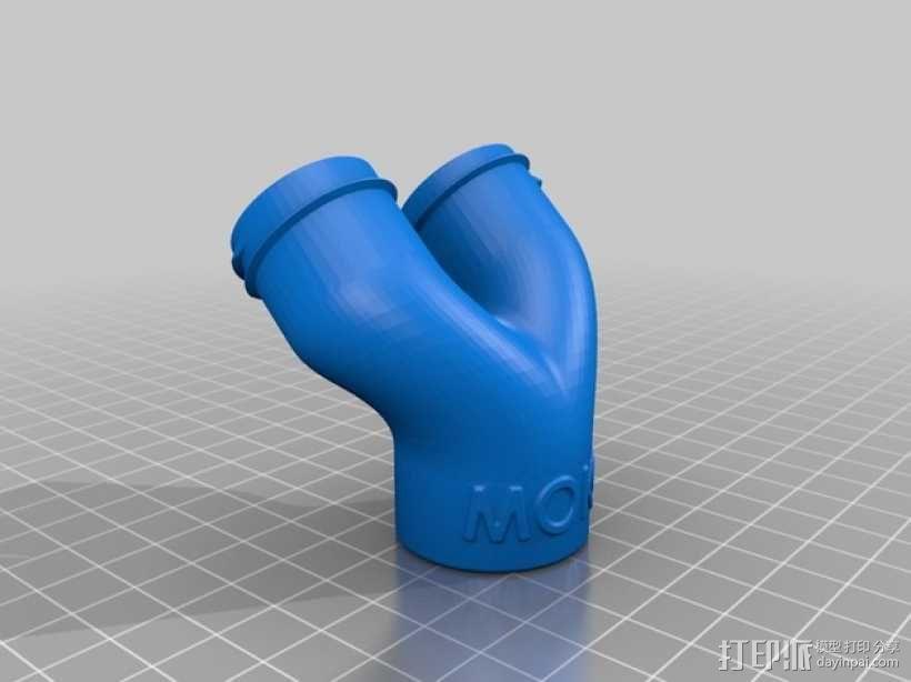 辣椒酱双挤出系统 3D模型  图3