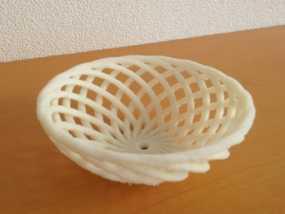 迷你竹篓模型 3D模型
