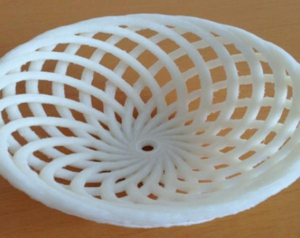 迷你竹篓模型 3D模型  图3