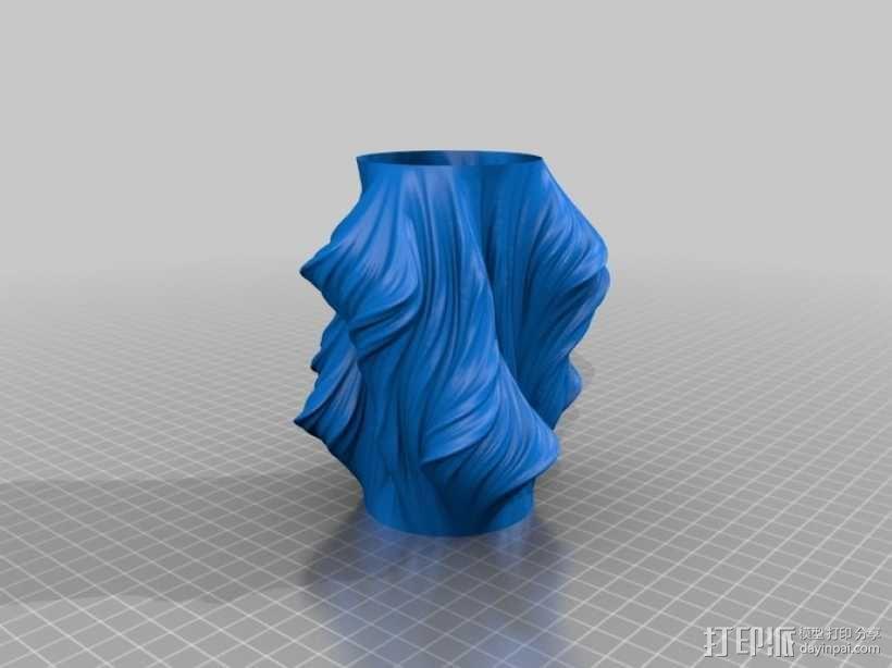 Julia花瓶模型#011 3D模型  图3