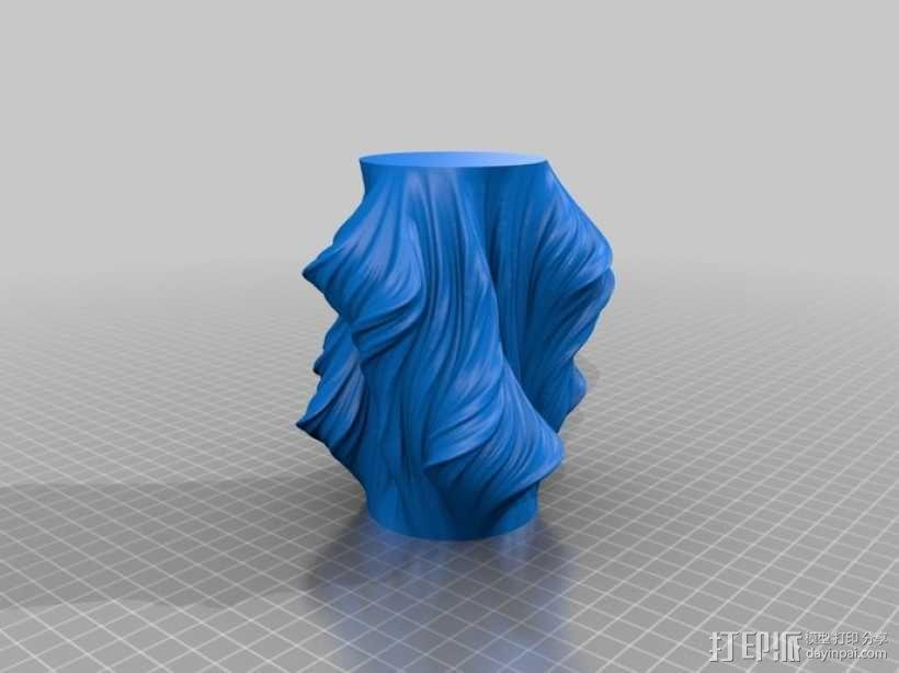 Julia花瓶模型#011 3D模型  图2