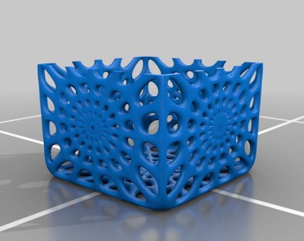 镂空立方体模型 3D模型  图2