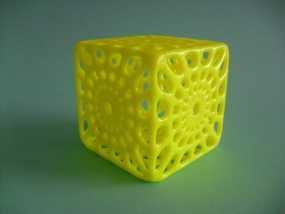 镂空立方体模型 3D模型