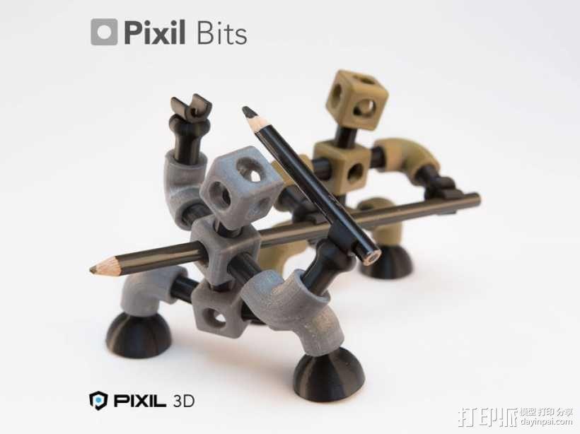 铅笔/手机架模型 3D模型  图6