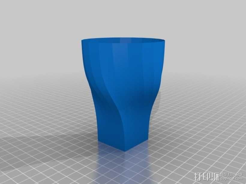 Python简易风格花瓶模型 3D模型  图8
