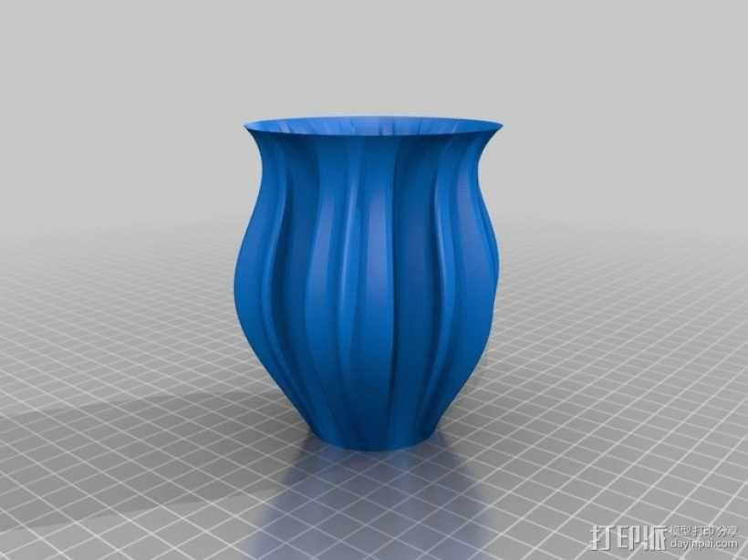 Python简易风格花瓶模型 3D模型  图9