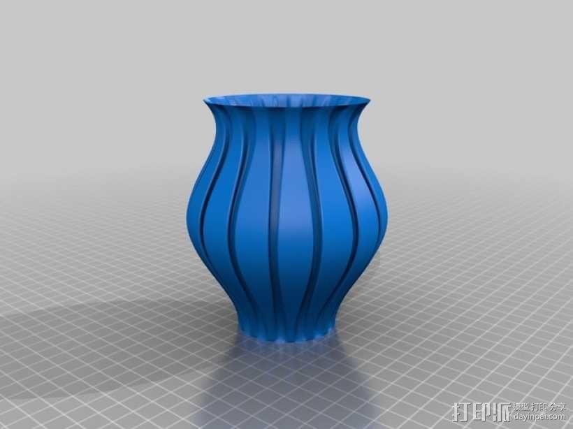 Python简易风格花瓶模型 3D模型  图10