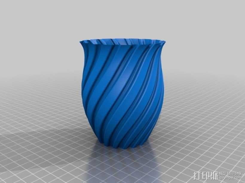Python简易风格花瓶模型 3D模型  图11