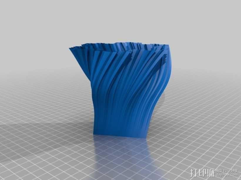 Python简易风格花瓶模型 3D模型  图12