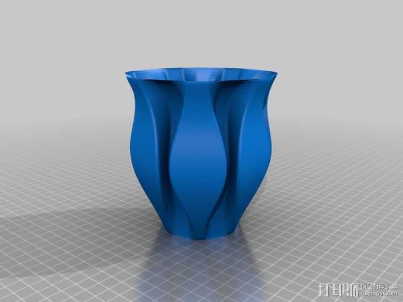 Python简易风格花瓶模型 3D模型  图13