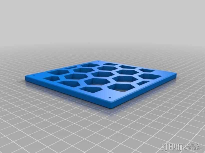 模块化蜂巢结构模型 3D模型  图5