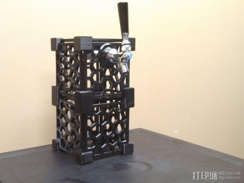 模块化蜂巢结构模型 3D模型  图3
