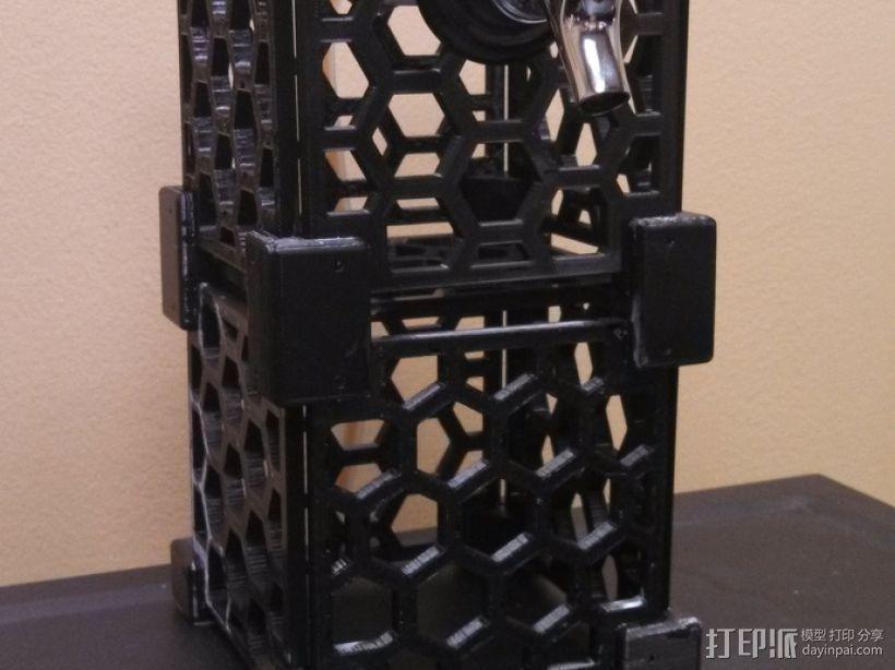 模块化蜂巢结构模型 3D模型  图4