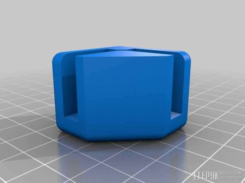 模块化蜂巢结构模型 3D模型  图6