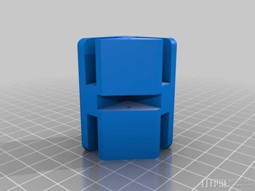 模块化蜂巢结构模型 3D模型  图9