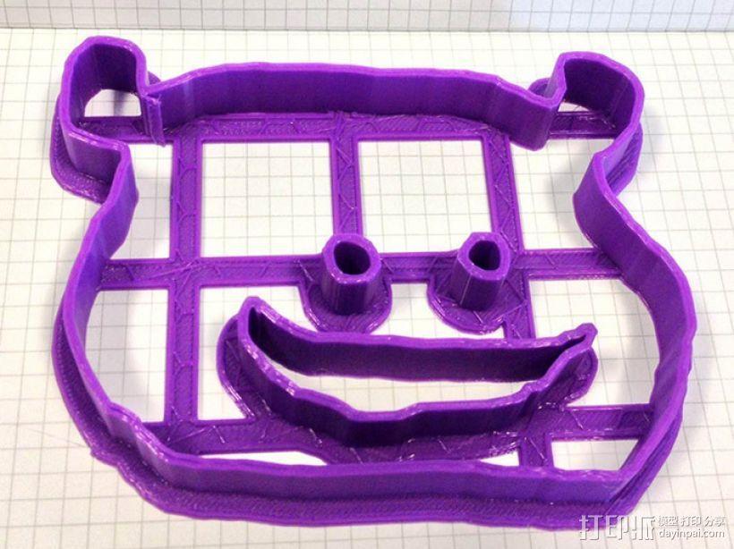个性化饼干模型切割刀 3D模型  图1