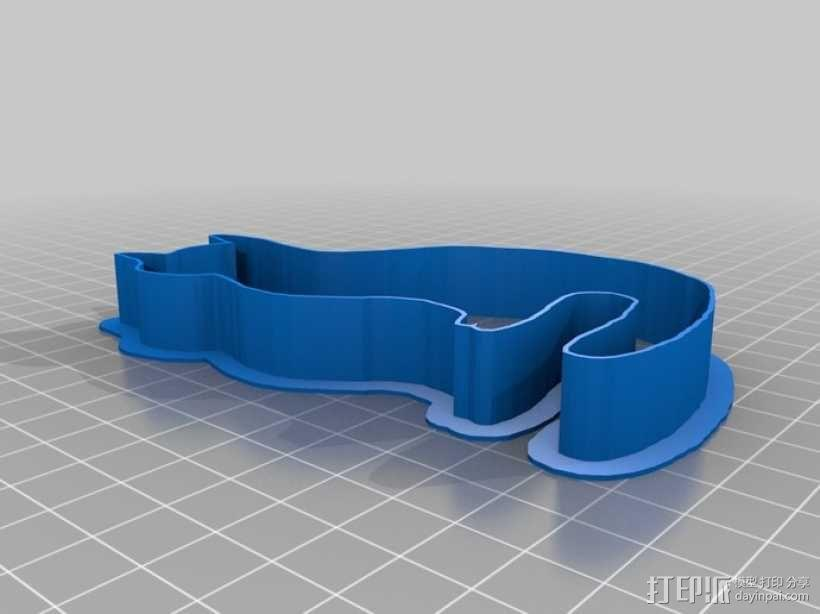个性化饼干模型切割刀 3D模型  图4