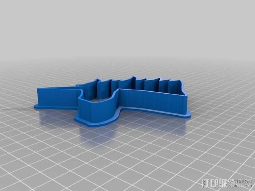 个性化饼干模型切割刀 3D模型  图2