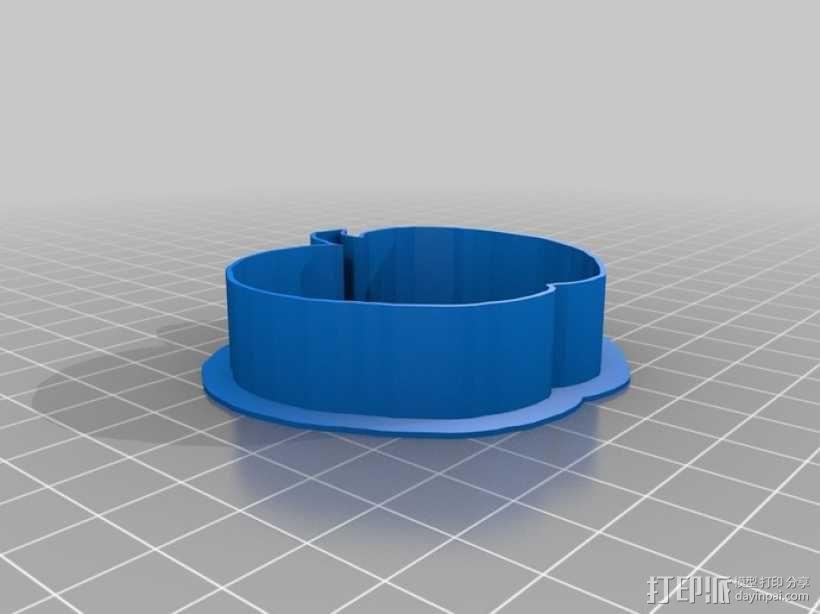 个性化饼干模型切割刀 3D模型  图6