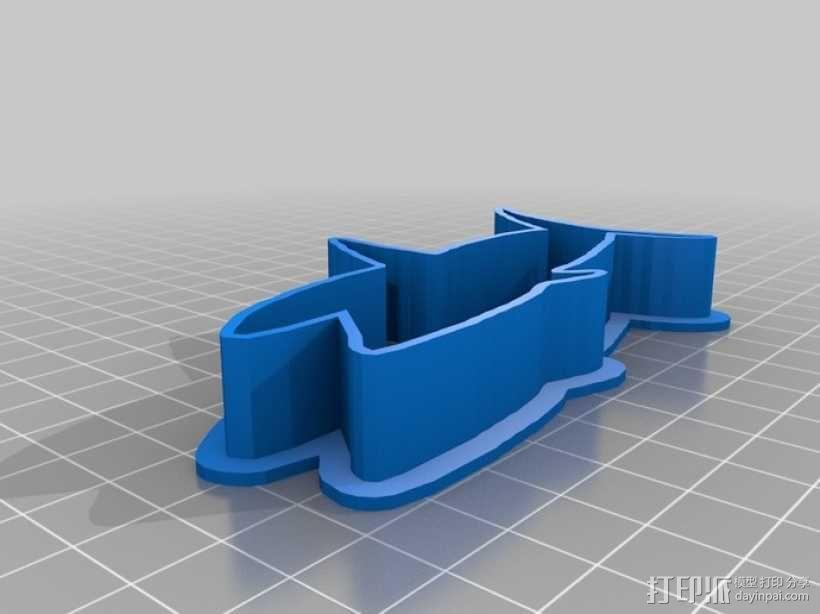 个性化饼干模型切割刀 3D模型  图5