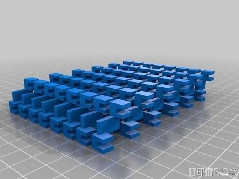 螺旋灯罩2 3D模型  图2