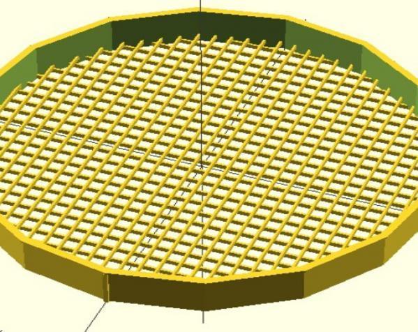 圆形过滤装置 3D模型  图2