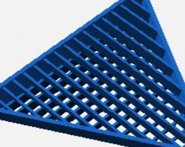 圆形过滤装置 3D模型  图3