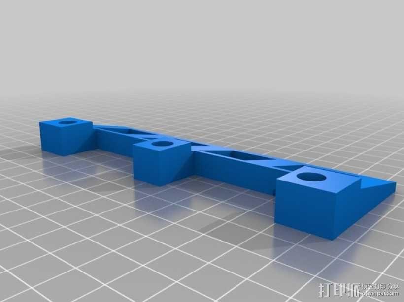 红酒杯固定架模型 3D模型  图2