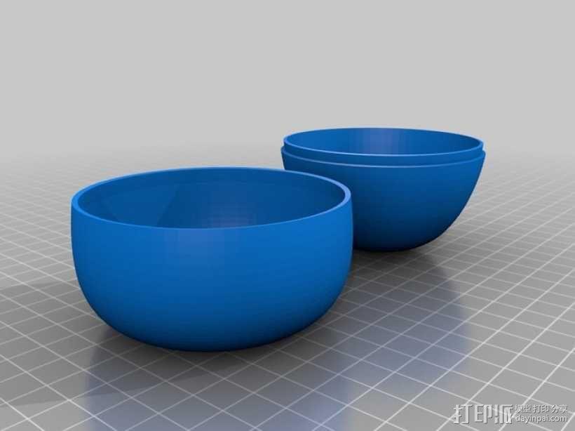 太阳能苹果形灯具模型 3D模型  图6
