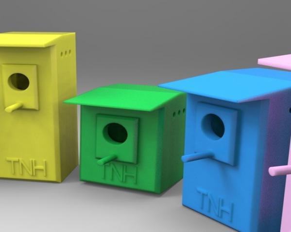 定制化鸟笼模型 3D模型  图2