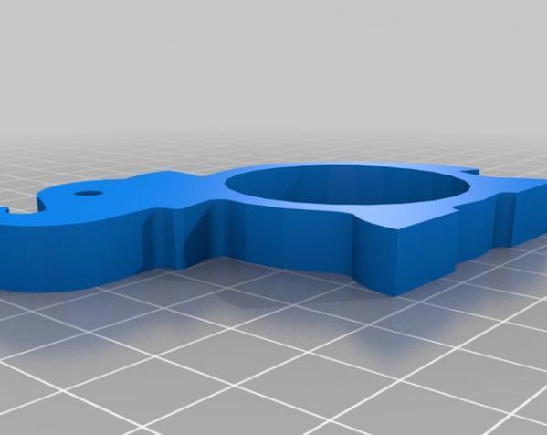 动物形餐巾环模型 3D模型  图4