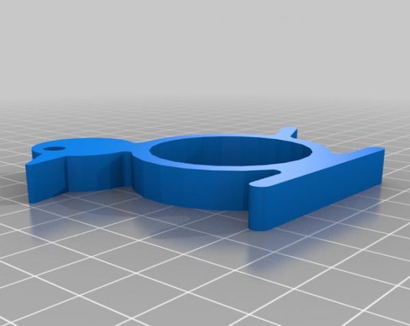 动物形餐巾环模型 3D模型  图3