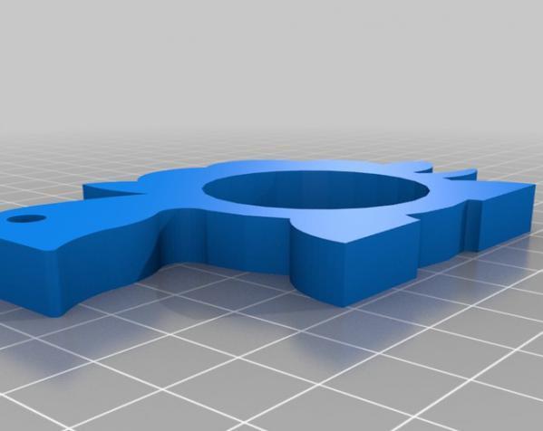 动物形餐巾环模型 3D模型  图6