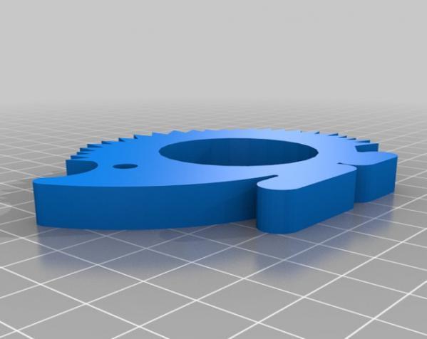 动物形餐巾环模型 3D模型  图5
