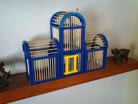竹签鸟笼模型 3D模型
