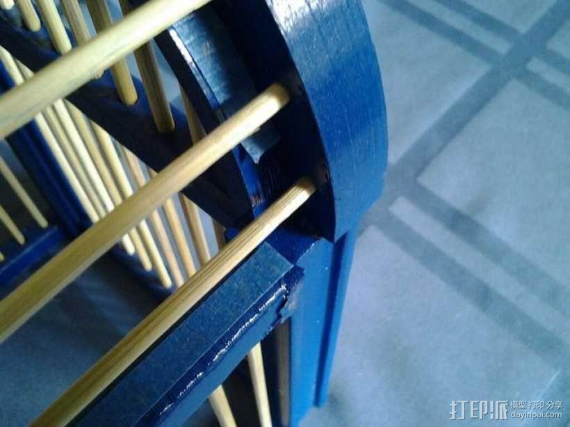 竹签鸟笼模型 3D模型  图13