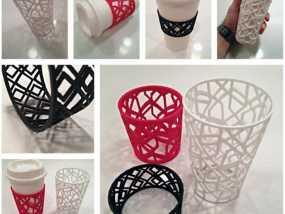 个性化咖啡杯/茶杯杯套模型 3D模型