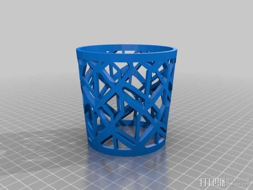 个性化咖啡杯/茶杯杯套模型 3D模型  图4