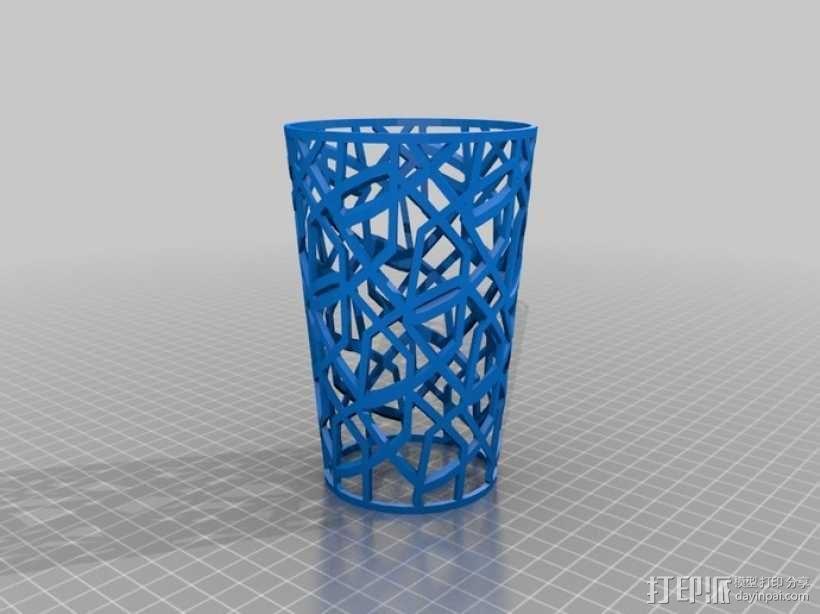 个性化咖啡杯/茶杯杯套模型 3D模型  图3