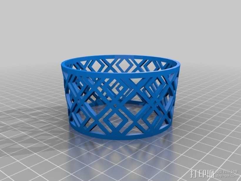 个性化咖啡杯/茶杯杯套模型 3D模型  图5