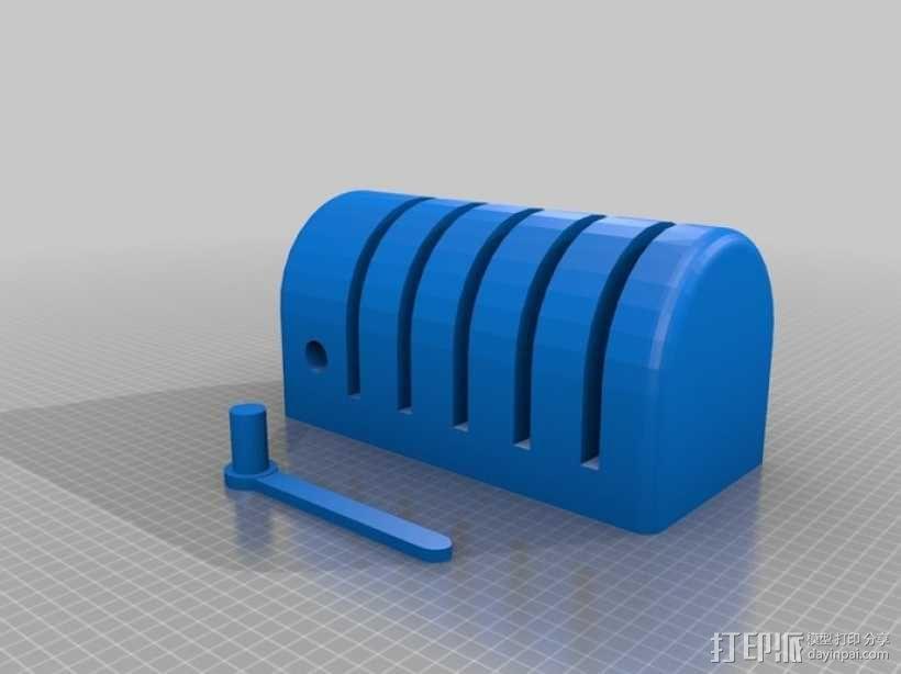 迷你便签筒模型 3D模型  图2