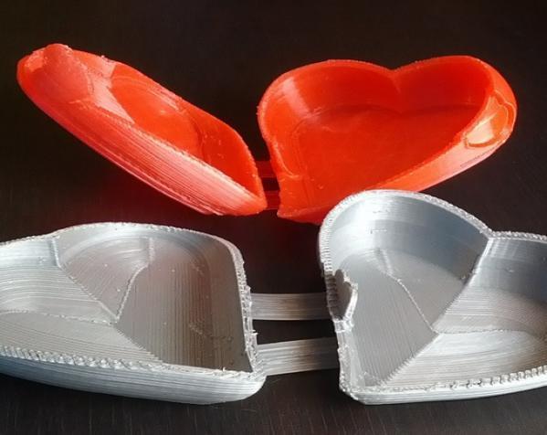 心形礼物盒模型 3D模型  图3