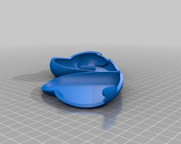 心形礼物盒模型 3D模型  图6