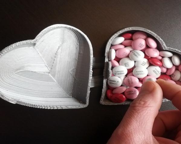 心形礼物盒模型 3D模型  图4