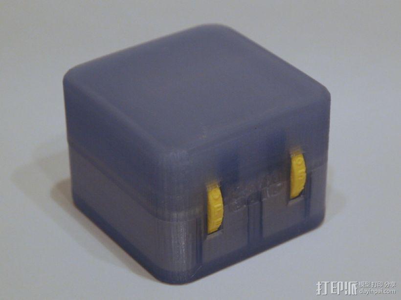 迷你保险箱模型 3D模型  图1