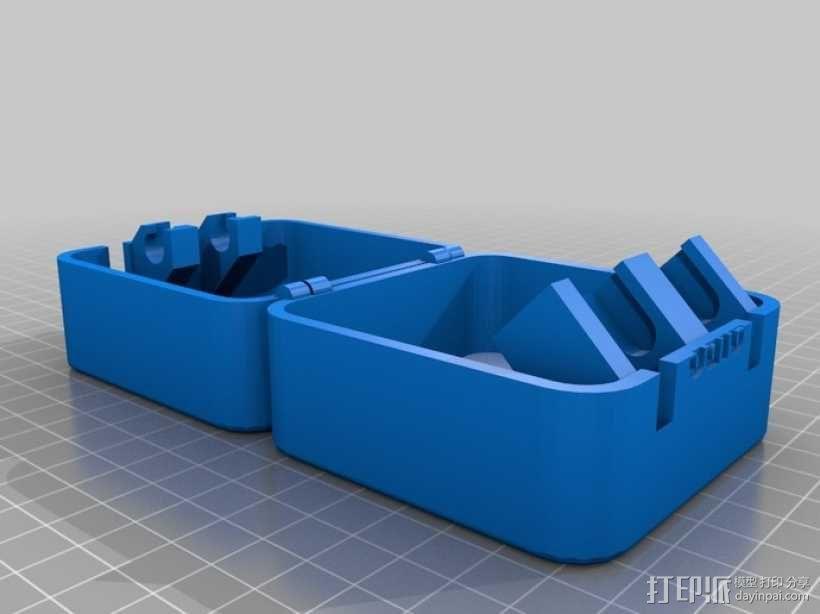 迷你保险箱模型 3D模型  图3