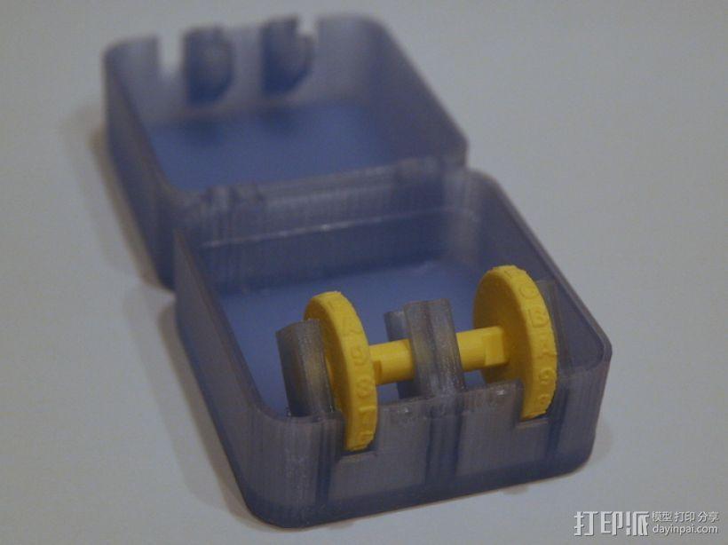 迷你保险箱模型 3D模型  图2