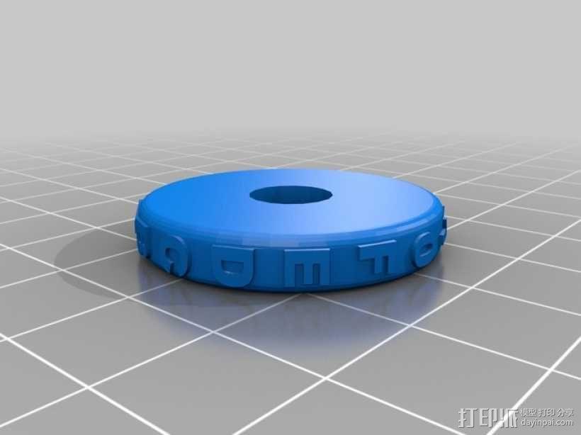 迷你保险箱模型 3D模型  图5