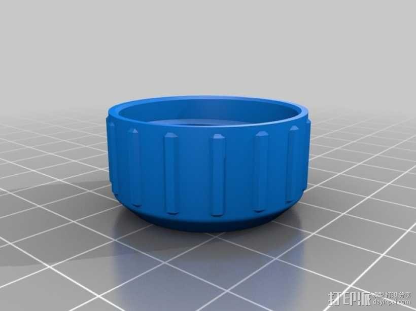 3D打印的瓶子瓶盖模型 3D模型  图8